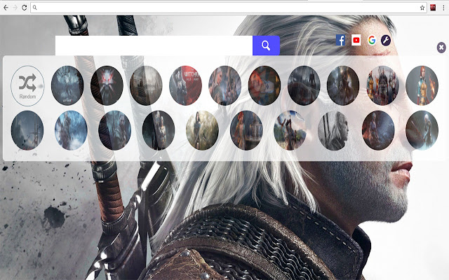 The Witcher 3 Game HD Wallpapers New Tab