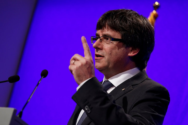 Carles Puigdemont. Picture: REUTERS