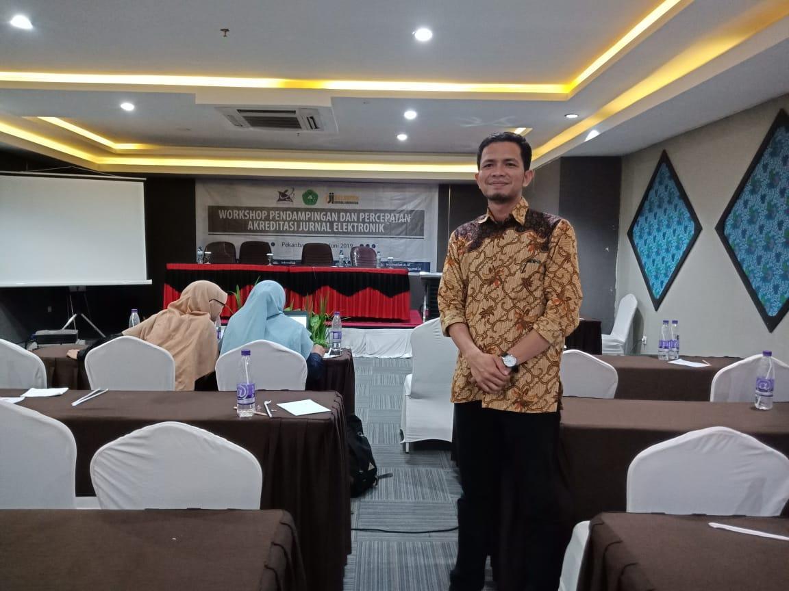Workshop Pendampingan dan Percepatan Akreditasi Jurnal Elektronik