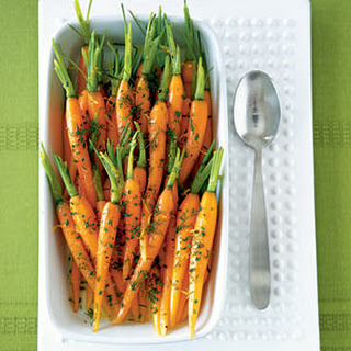 Baby Carrots with Dill, Butter, and Lemon