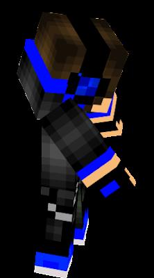 Gamer Blue Nova Skin