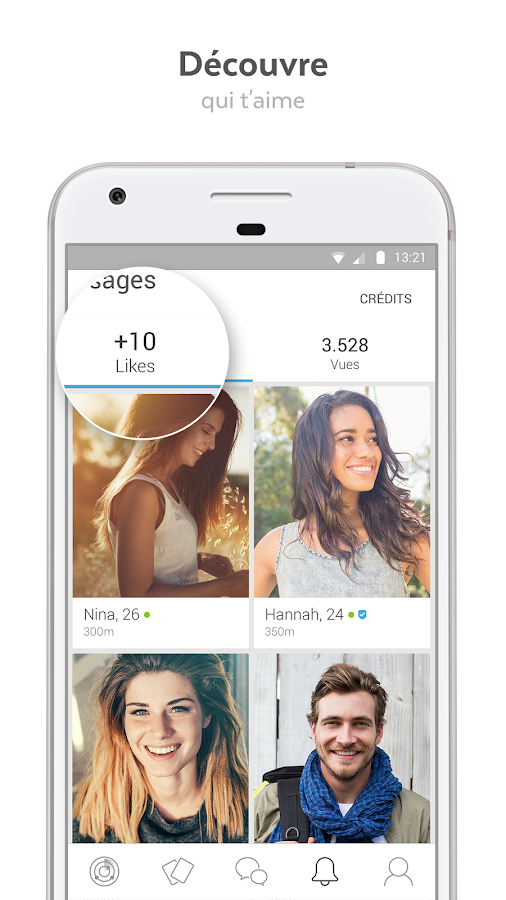 LOVOO - Tchat pour rencontres - Applications Android sur