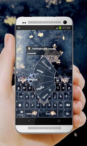 雪花Xuěhuā GO Keyboard