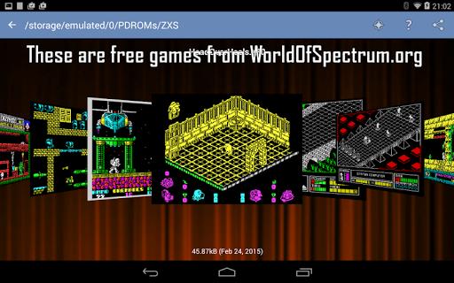 Speccy - Complete Sinclair ZX Spectrum Emulator screenshots 3