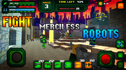 Rescue Robots Sniper Survival modavailable screenshots 2