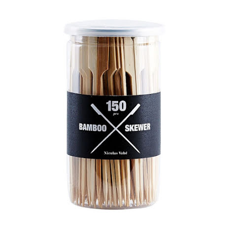 Skewer, bamboo, pack of 150 pcs