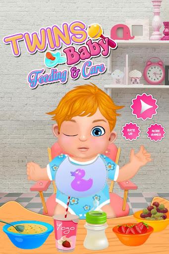 双子の赤ちゃんの摂食&ケア