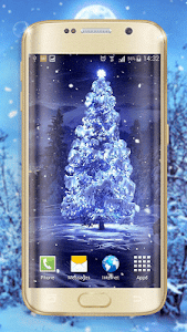 Winter Night Live Wallpaper screenshot 1