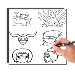 How To Draw Naruto Characters Easy 1 02 Seedroid