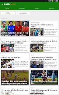 Rugbyrama– Vignette de la capture d'écran