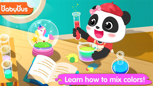 Little Panda's Color Crafts apklade screenshots 1