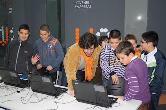 Photo: con los chicos del campillo, en el día de jornadas abiertas del #crticnrm