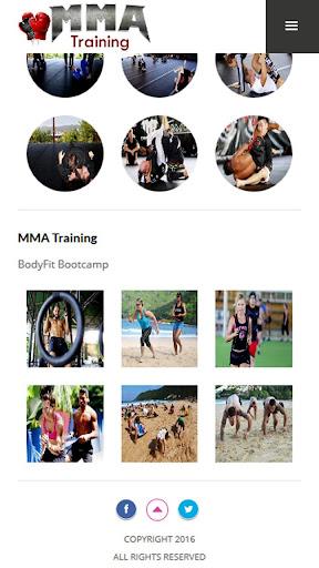 MMA Training and Fitness 1.0 screenshots 4