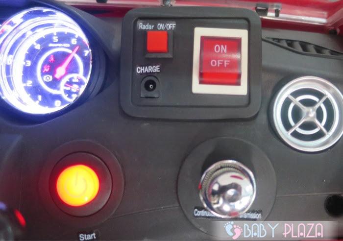 Ô tô điện trẻ em SX-1538 có Radar 13