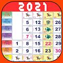 Malaysia Calendar 2021 Lite icon