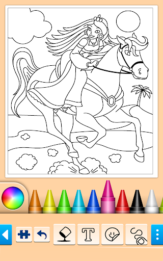 Princess Coloring Game screenshots 2