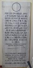 Photo: Lápida original de la catedral, actualmente en el museo