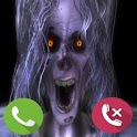 Scary Ghost Fake Call icon
