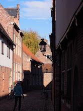 Photo: Groot Bejinghof - stara cest Leuvenu s puvodni univerzitou (UNESCO)
