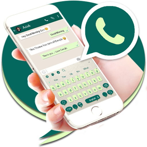 Keyboard Theme for Whatsapp app (apk) free download for Android/PC/Windows