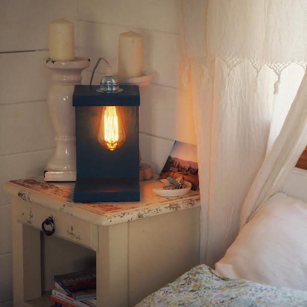 Lampe de chevet en béton