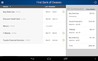 Screenshot of First Bank of Owasso
