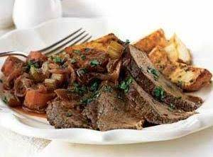 Braised Beef And Onions Recipe