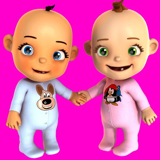 Talking Baby Twins Newborn Pro Icon