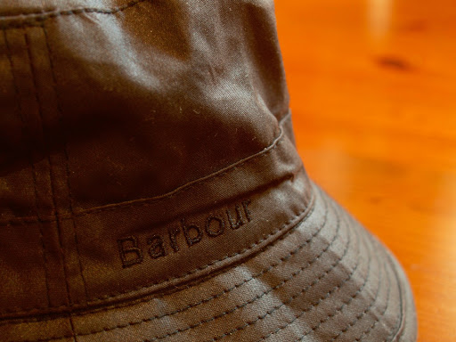 Barbour Waxed Sports Hat Black