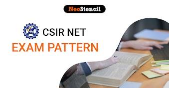 CSIR NET Exam Pattern 2020 - Exam Pattern & Marking Scheme