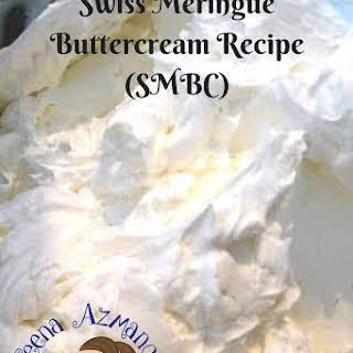 Swiss Meringue Buttercream SMBC.
