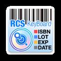 RCS Barcode/OCR Keyboard icon