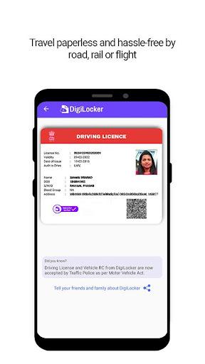 DigiLocker  -  a simple and secure document wallet 6.2.3 Screenshots 3
