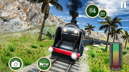 Fast Euro Train Driver Sim: Train Games 3D 2020 android2mod screenshots 2