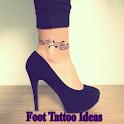 FOOT TATTOO IDEAS icon