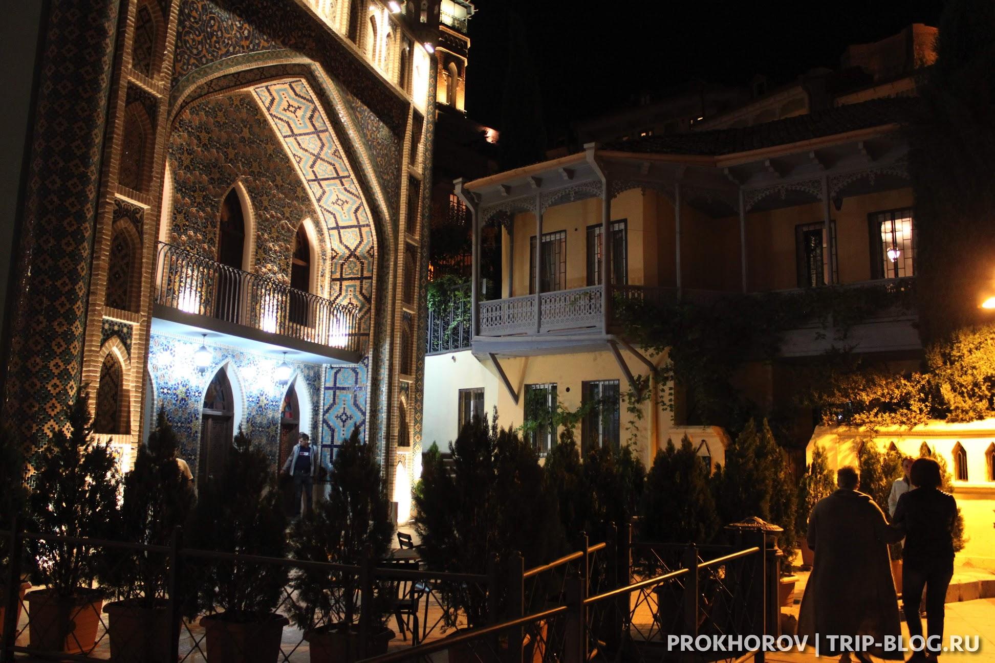 Пушкинские серные бани Тбилиси