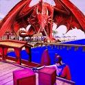 Dragon Simulator Beach & City Attack icon