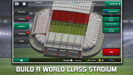 Soccer Manager 2019 - Top Football Management Game 1.2.8 screenshots hack proof 2