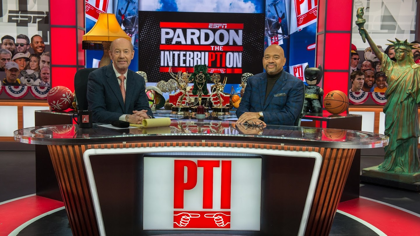 Watch Pardon the Interruption live