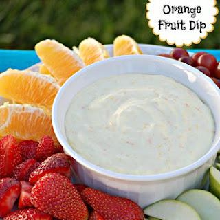 Orange Fruit Dip