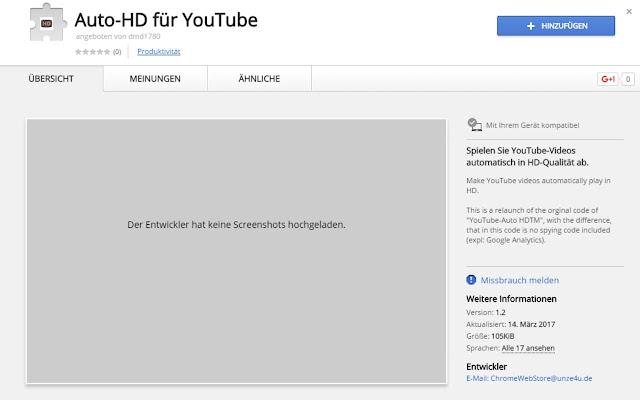 YouTube-Auto HD