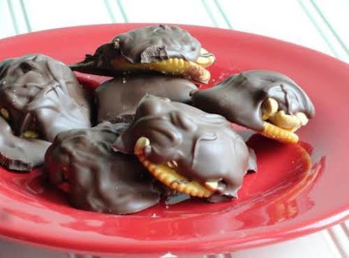 """Ritzy Fudge Payolas Very good and easy to make. Great recipe!"""" -..."""