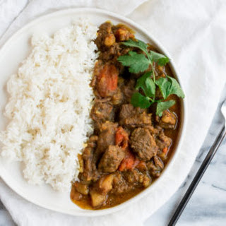 Instant Pot Curry Beef Stew.