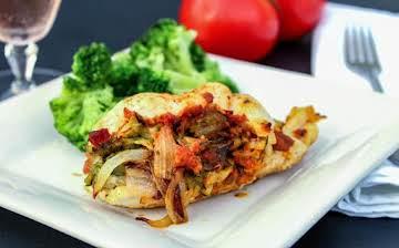 Sun-Dried Tomato & Veggie Stuffed Chicken Cutlets