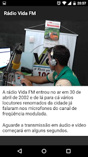 Rádio Vida FM- screenshot thumbnail