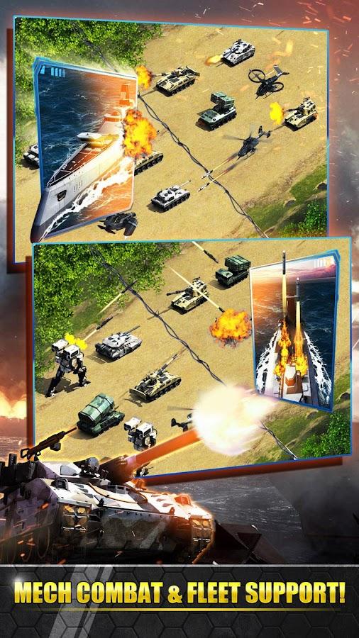 Screenshots of Armor Modern War : Mech Storm for iPhone