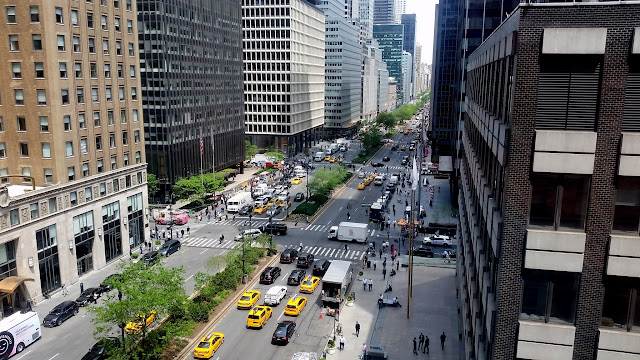 View from the 7th floor of the Helmsley Building