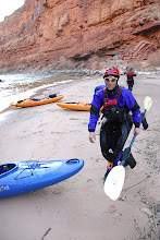 Photo: Brook paddled the Colorado after only 11 days on whitewater! Stud!
