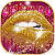 Hot Golden Lips Keyboard Theme file APK Free for PC, smart TV Download