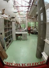 Photo: Peeking into our lab.